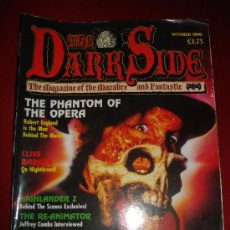 Cine: THE DARK SIDE MAGAZINE 1: REVISTA CINE DE TERROR. NÚMERO MUY DIFICIL DE CONSEGUIR!!!. Lote 23169242