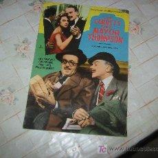 Cine: GRANDES PELICULAS LOS CARNETS DEL MAYOR THOMPSON, EDICIONES MANDOLIA AÑO 1959.. Lote 15942390