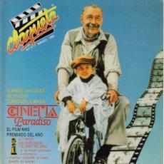 Cine: MAGAZINE CLAQUETA 1990 Nº11 SPAIN. Lote 15950948