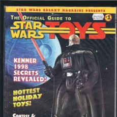 Cine: THE STAR WARS TOYS OFFICIAL GUIDE. Lote 15975330