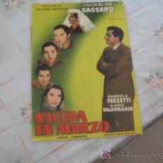 Cine: GRANDES PELICULAS NACIDA EN MARZO AÑO 1959.. Lote 16105935