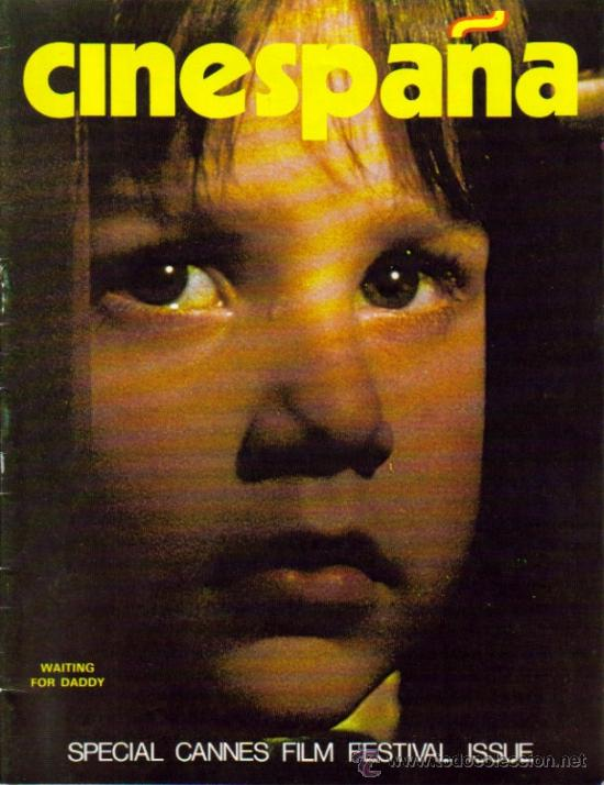 MAGAZINE CINESPAÑA (SPECIAL CANNES FILM FESTIVAL ISSUE) (Cine - Revistas - Otros)