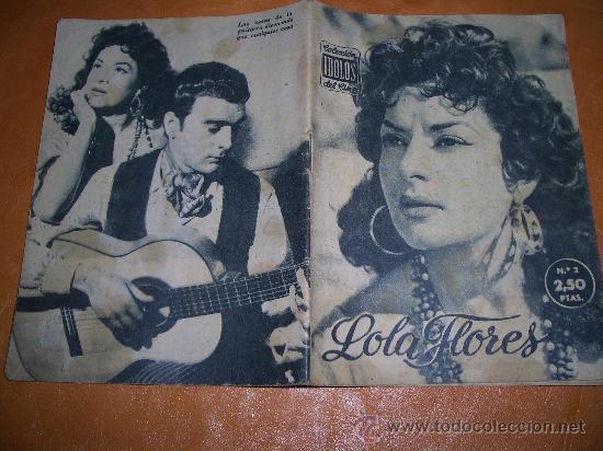 LOLA FLORES COLECCION IDOLOS DEL CINE -CAJA Nº 3 (Cine - Revistas - Colección ídolos del cine)