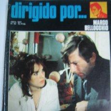 Cine: DIRIGIDO POR Nº 43 - POLANSKI - MARCO BELLOCHIO - BOROWCZYK GEORGE CUKOR ISABELLE ADJANI. Lote 16146702