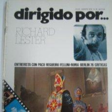 Cinema - Dirigido por Nº 35 - richard lester - beatles - paco regueiro fellini roma - 16146861