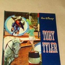Cine: TOBY TYLER, 10 SEMANAS CON EL CIRCO. WALT DISNEY, WILLIAM SYNDER, J. OLEZA. EDICIONES GAISA 1975.+++. Lote 25898835