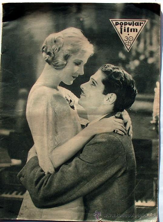 ANTIGUA REVISTA DE CINE POPULAR FILM Nº 319 22 DE SEPTIEMBRE DE 1932 (Cine - Revistas - Popular film)