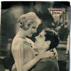 Cine: ANTIGUA REVISTA DE CINE POPULAR FILM Nº 319 22 DE SEPTIEMBRE DE 1932. Lote 16293313