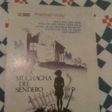 Cine: CARTEL DE 'LA MUCHACHA DEL SENDERO', CON JODIE FOSTER. RECORTE DE PRENSA.. Lote 16496796