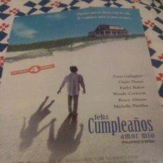 Cine: 'FELIZ CUMPLEAÑOS, AMOR MÍO', CON MICHELLE PFEIFFER. RECORTE DE PRENSA.. Lote 16646894