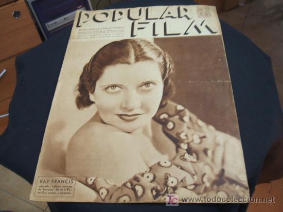 REVISTA DE CINE - POPULAR FILM - Nº 452 - 18 ABRIL 1.935 (Cine - Revistas - Popular film)