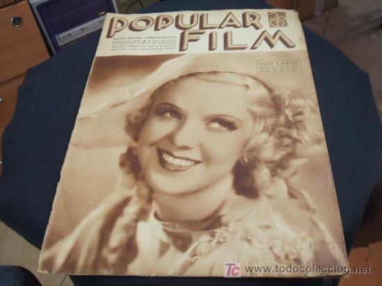 REVISTA DE CINE - POPULAR FILM - Nº 458 - 30 MAYO 1.935 (Cine - Revistas - Popular film)