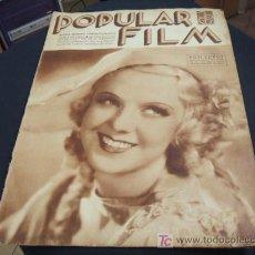 Cine: REVISTA DE CINE - POPULAR FILM - Nº 458 - 30 MAYO 1.935. Lote 16901421