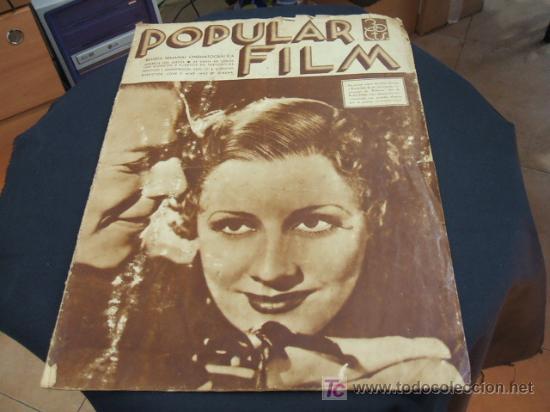 REVISTA DE CINE - POPULAR FILM - Nº 459 - 6 JUNIO 1.935 (Cine - Revistas - Popular film)