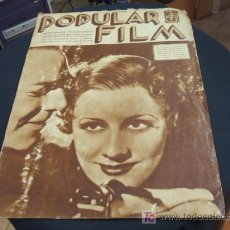 Cine: REVISTA DE CINE - POPULAR FILM - Nº 459 - 6 JUNIO 1.935. Lote 16901430