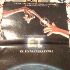 Cine: 'E.T, EL EXTRATERRESTRE', DE STEVEN SPIELBERG. RECORTE DE PRENSA.. Lote 17082541