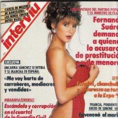 Cine: REVISTA INTERVIU AÑO 1991 Nº 773 REPORTAJE ENCARNA SANCHEZ. Lote 27169943