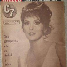Cine: GINA LOLLOBRIGIDA EN LA REVISTA CINE EN 7 DIAS DE 1966. Lote 27465953
