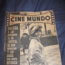 Cine: QUEX CINE - REVISTA - CINE MUNDO. Lote 18658654