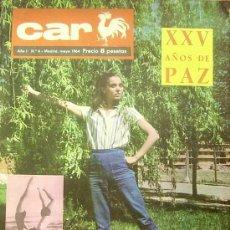 Cinema: MAGAZINE CAR (XXI AÑOS DE PAZ) 1964 Nº4 SPAIN. Lote 17447791