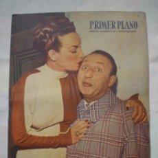Cine: PRIMER PLANO REVISTA ESPAÑOLA DE CINEMATOGRAFIA AÑO 1948 Nº 390 PORTADA CARMEN MIRANDA. Lote 38339541