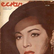 Cine: SARA MONTIEL REVISTA ECRAN DE CHILE AÑO 1959 ELVIS PRESLEY REPORTAJE DE 2 PAGINAS... . Lote 17561069