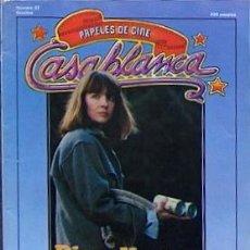 Cine: PAPELES DE CINE: CASABLANCA Nº 22 OCT 1982, DIANE KEATON, ALAN PARKER, INGRID BERGMAN, VENECIA 82. Lote 17821010