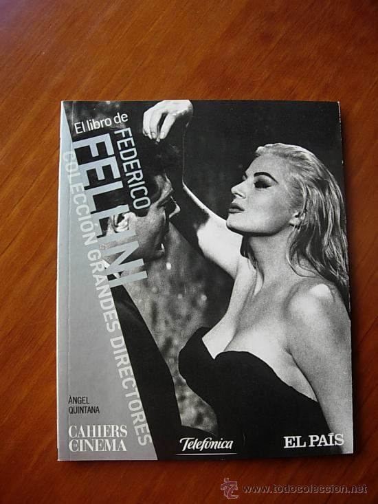 FEDERICO FELLINI LIBRO (Cine - Revistas - Otros)