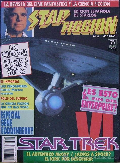 STAR FICCION Nº 8. LA REVISTA DEL CINE FANTÁSTICO Y LA CIENCIA FICCIÓN. EDICIÓN ESPAÑOLA DE STARLOG (Cine - Revistas - Star Ficcion)