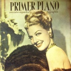 Cine: MAGAZINE ANN SHERIDAN PRIMER PLANO SPANISH MAGAZINE 1947 Nº347 SPAIN. Lote 18566927