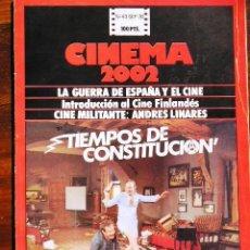 Cine: CINEMA 2002 - Nº 43, SEPTIEMBRE 1978 - TIEMPOS DE CONSTITUCIÓN / GUERRA DE ESPAÑA Y EL CINE.. Lote 18626475