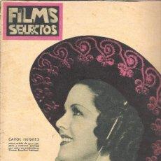 Cine: FILMS SELECTOS AÑO 1936 Nº 296 FOTO IMPERIO ARGENTINA, LA VIDA DE CAROLE LOMBARD. Lote 18649774