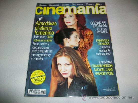 CINEMANIA Nº 43 - ABRIL 99 - PORTADA TODO SOBRE MI MADRE DE ALMODOVAR - PENELOPE CRUZ-MARISA PAREDES (Cine - Revistas - Cinemanía)