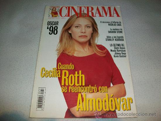 REVISTA CINE - CINERAMA - PORTADA: CECILIA ROTH REENCUENTRO CON ALMODOVAR - TODO SOBRE MI MADRE (Cine - Revistas - Cinerama)