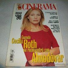 Cine: REVISTA CINE - CINERAMA - PORTADA: CECILIA ROTH REENCUENTRO CON ALMODOVAR - TODO SOBRE MI MADRE. Lote 25915963