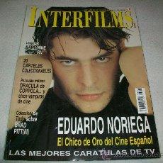 Cine: REVISTA INTERFILMS - Nº 129 - PORTADA EDUARDO NORIEGA - EL CHICO DE ORO DEL CINE ESPAÑOL / 1999. Lote 25915967