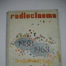 Cine: CINE . RADIOCINEMA . 1938 1963 . REVISTA DECANA BODAS DE PLATA 575-576 , MARISOL ,MARILYN MONROE ... Lote 18753928