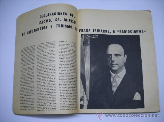 Cine: CINE . RADIOCINEMA . 1938 1963 . REVISTA DECANA BODAS DE PLATA 575-576 , MARISOL ,MARILYN MONROE .. - Foto 2 - 18753928