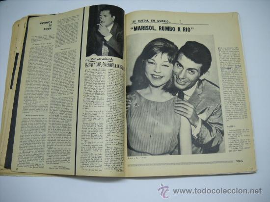 Cine: CINE . RADIOCINEMA . 1938 1963 . REVISTA DECANA BODAS DE PLATA 575-576 , MARISOL ,MARILYN MONROE .. - Foto 6 - 18753928