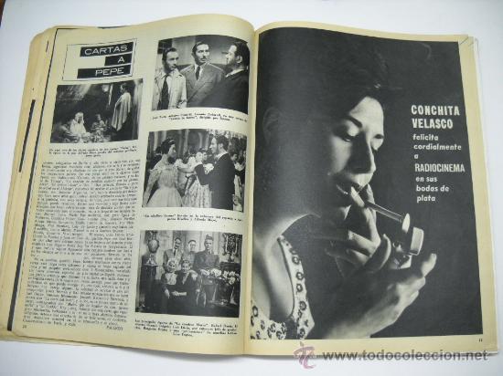 Cine: CINE . RADIOCINEMA . 1938 1963 . REVISTA DECANA BODAS DE PLATA 575-576 , MARISOL ,MARILYN MONROE .. - Foto 7 - 18753928