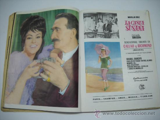 Cine: CINE . RADIOCINEMA . 1938 1963 . REVISTA DECANA BODAS DE PLATA 575-576 , MARISOL ,MARILYN MONROE .. - Foto 8 - 18753928