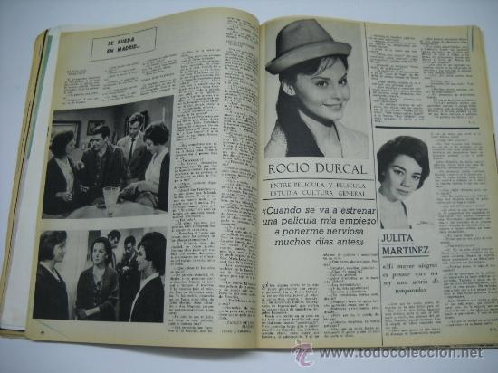 Cine: CINE . RADIOCINEMA . 1938 1963 . REVISTA DECANA BODAS DE PLATA 575-576 , MARISOL ,MARILYN MONROE .. - Foto 9 - 18753928