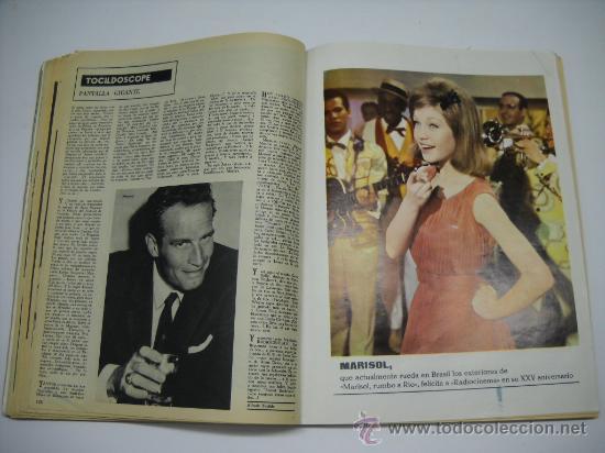 Cine: CINE . RADIOCINEMA . 1938 1963 . REVISTA DECANA BODAS DE PLATA 575-576 , MARISOL ,MARILYN MONROE .. - Foto 10 - 18753928