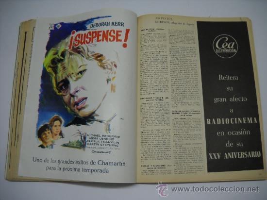Cine: CINE . RADIOCINEMA . 1938 1963 . REVISTA DECANA BODAS DE PLATA 575-576 , MARISOL ,MARILYN MONROE .. - Foto 11 - 18753928