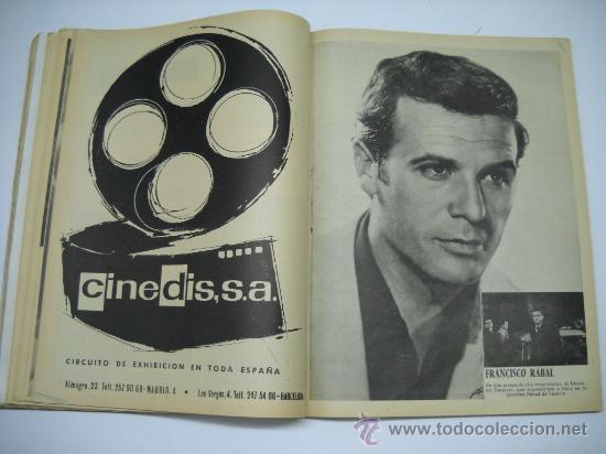Cine: CINE . RADIOCINEMA . 1938 1963 . REVISTA DECANA BODAS DE PLATA 575-576 , MARISOL ,MARILYN MONROE .. - Foto 14 - 18753928
