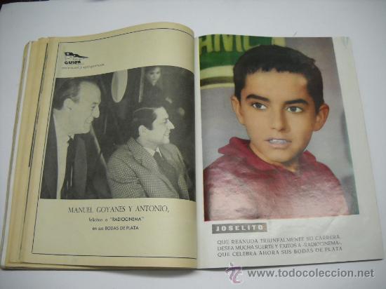 Cine: CINE . RADIOCINEMA . 1938 1963 . REVISTA DECANA BODAS DE PLATA 575-576 , MARISOL ,MARILYN MONROE .. - Foto 15 - 18753928