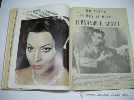 Cine: CINE . RADIOCINEMA . 1938 1963 . REVISTA DECANA BODAS DE PLATA 575-576 , MARISOL ,MARILYN MONROE .. - Foto 16 - 18753928