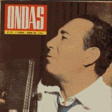 Cine: ONDAS Nº237 (OCTUBRE 1962). SOLER SERRANO, LA MUERTE PASO POR BARCELONA, PEPE IGLESIAS EL ZORRO.. . . Lote 18761578