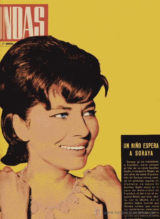 ONDAS Nº235 (1962) (RADIO) SORAYA, ROCÍO DÚRCAL, GRAN VERBENA DE RADIO BARCELONA, LUCHO GATICA (Cine - Revistas - Ondas)