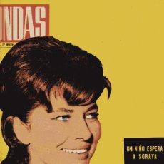 Cine: ONDAS Nº235 (1962) (RADIO) SORAYA, ROCÍO DÚRCAL, GRAN VERBENA DE RADIO BARCELONA, LUCHO GATICA. Lote 18761913
